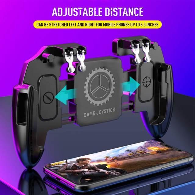دسته بازی pubg مدل M10 مناسب برای گوشی موبایل              ( قیمت و خرید)