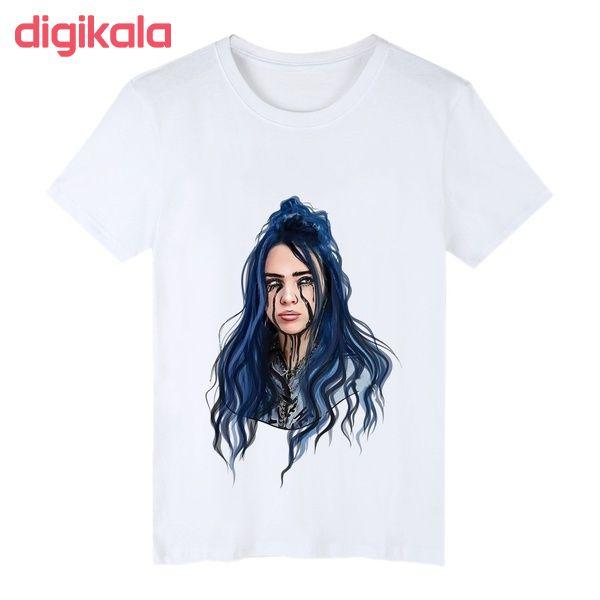 تی شرت زنانه طرح بیلی ایلیش کد S001 main 1 3