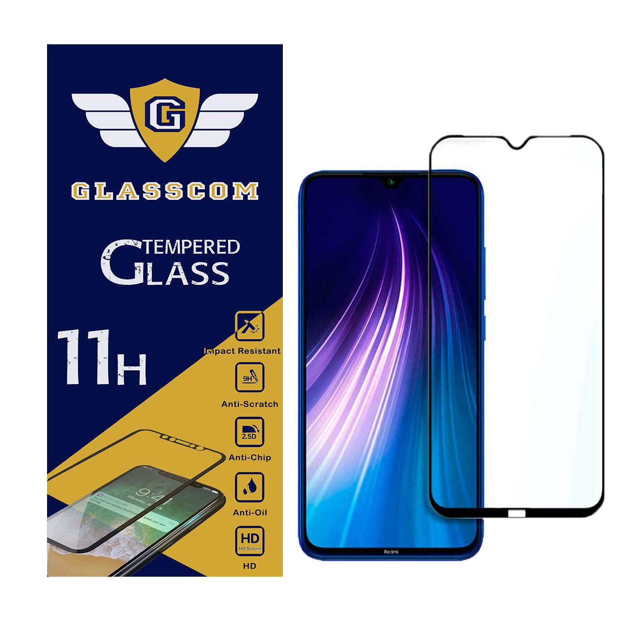 محافظ صفحه نمایش گلس کام مدل GC-R8 مناسب برای گوشی موبایل شیائومی Redmi Note 8              ( قیمت و خرید)
