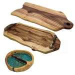 سرویس پذیرایی چوبی 3 پارچه کد IH - 022