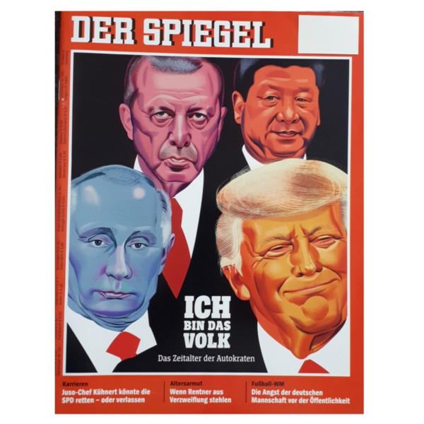 مجله اشپيگل ژوئن 2018