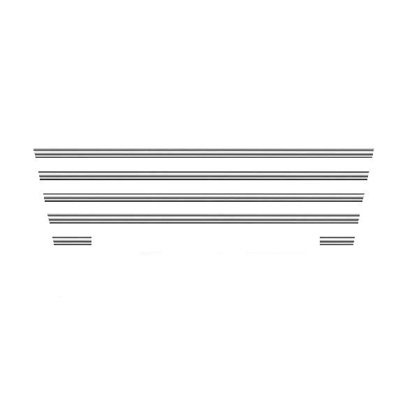 زه سپر خودرو  کوکلان کد 6000 مناسب برای پژو 207 بسته 6 عددی