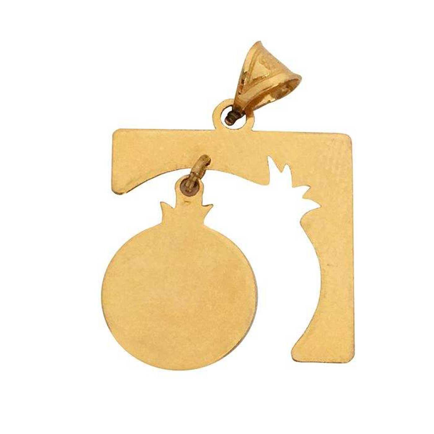 آویز گردنبند طلا 18 عیار زنانه کانیار گالری کد PE31 -  - 1