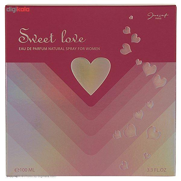 ادو پرفیوم زنانه ژک ساف مدل Sweet Love حجم 100 میلی لیتر main 1 2