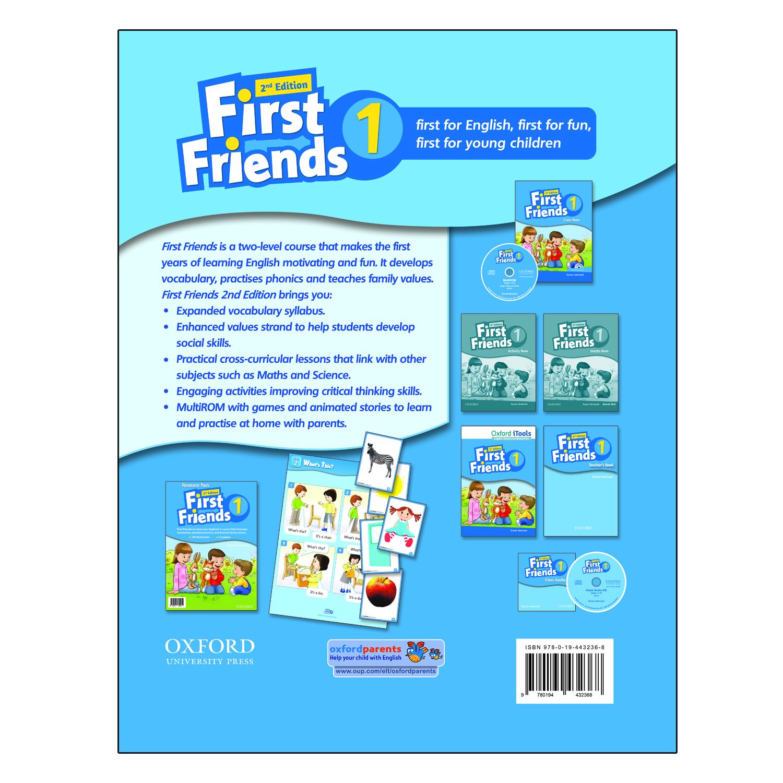 خرید                      کتاب First Friends 1 اثر Susan lannuzzi انتشارات Oxford