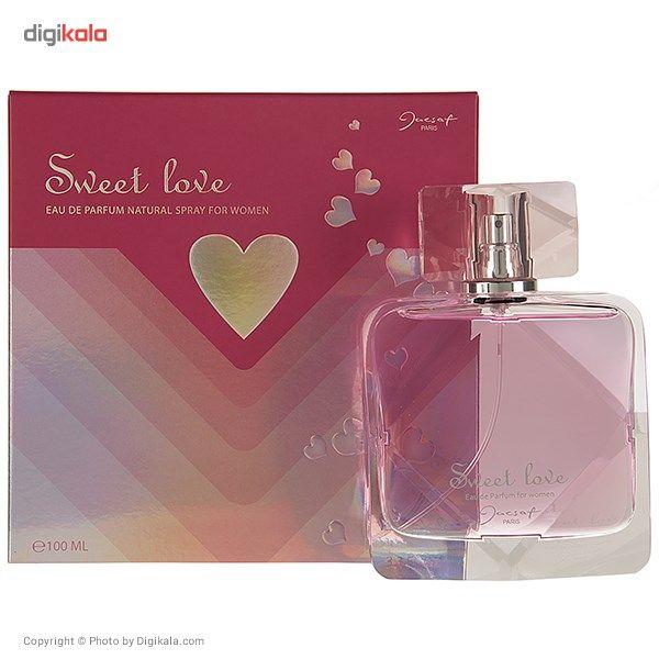 ادو پرفیوم زنانه ژک ساف مدل Sweet Love حجم 100 میلی لیتر main 1 3