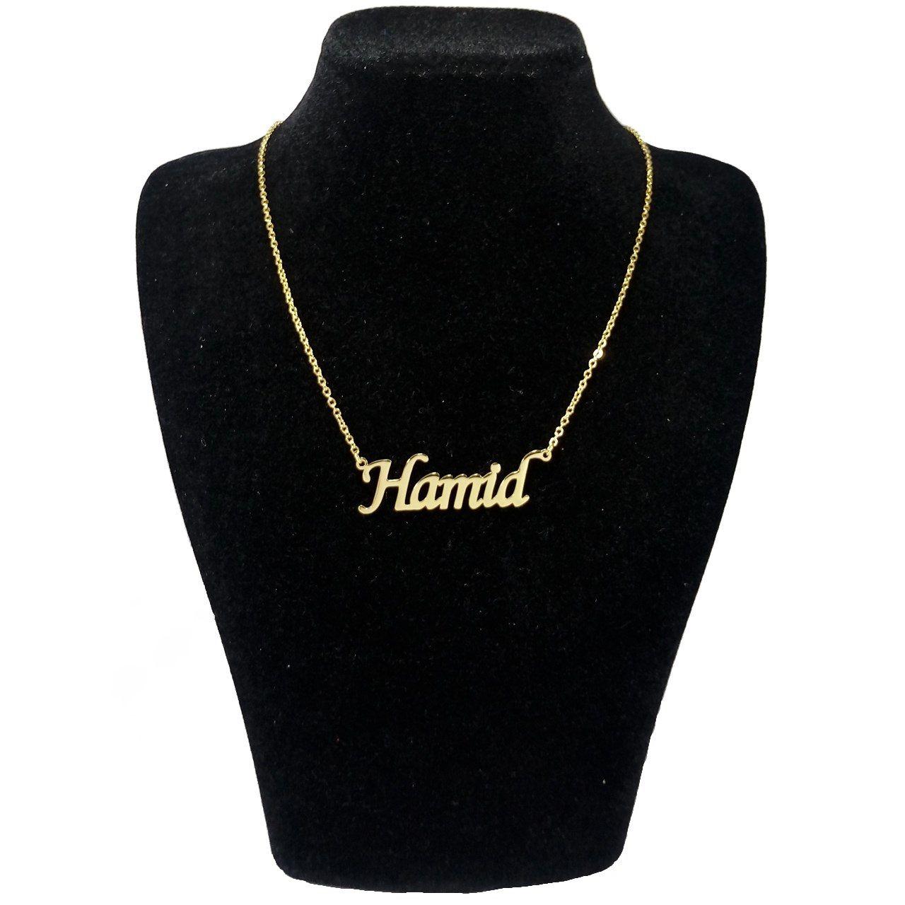 گردنبند زنانه طرح حمید کد u489 -  - 3