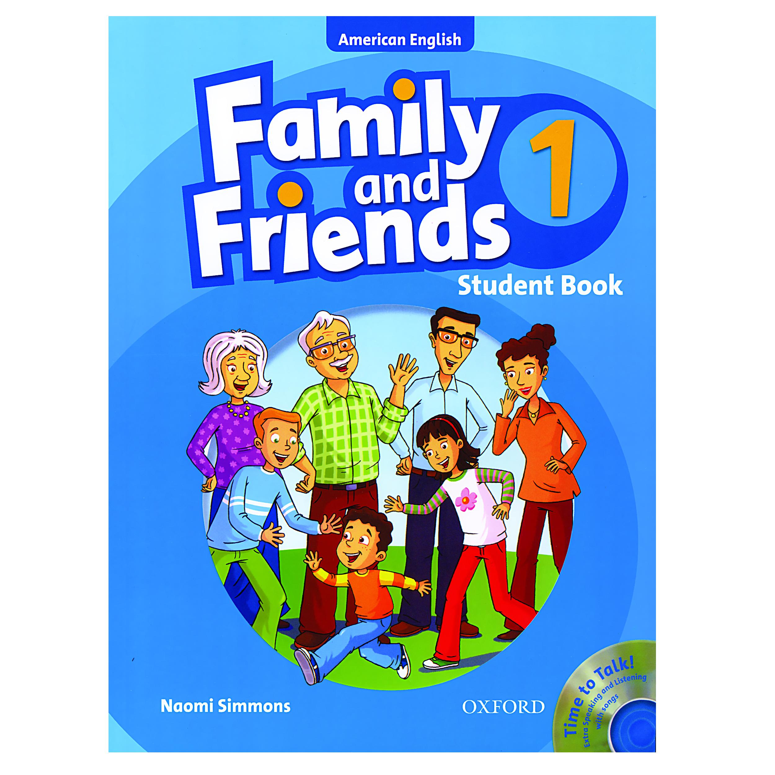 خرید                      کتاب Family and Friends 1 اثر Naomi Simmons انتشارات Oxford