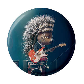 پیکسل طرح جوجه تیغی گیتار زن مدل S1018