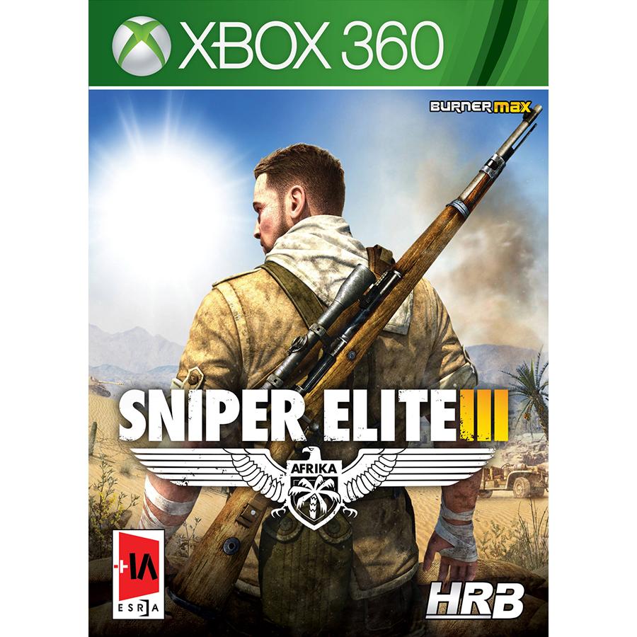 بازی Sniper Elite III مخصوص xbox 360