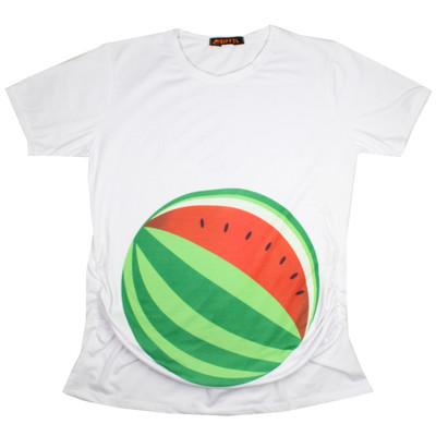 Photo of تی شرت بارداری ایفل طرح هندوانه مدل 1283