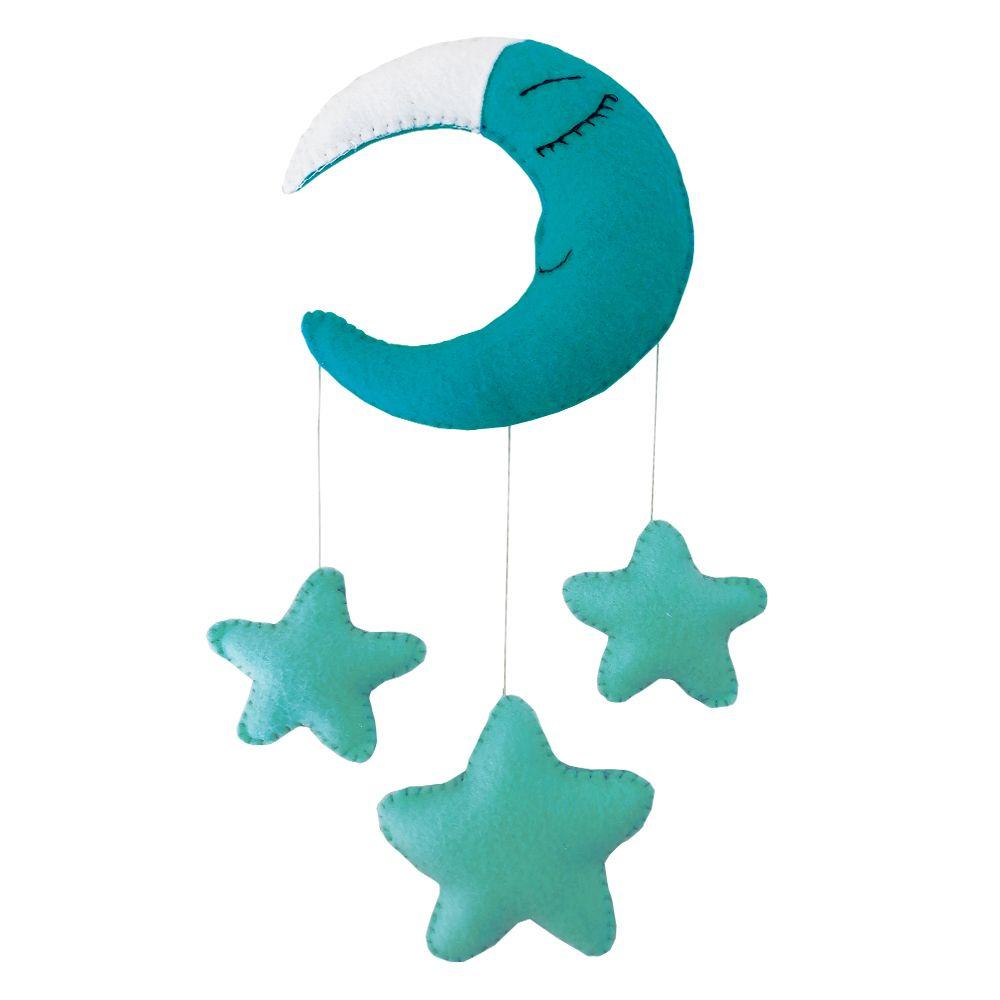 آویز تخت کودک طرح ماه و ستاره مدل ND501
