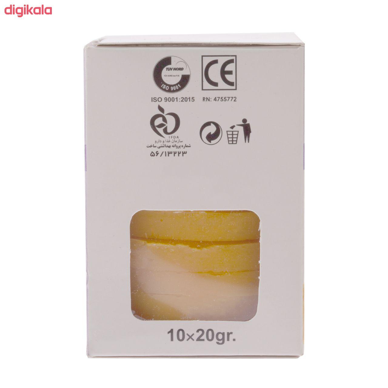 وکس موبر بیس بیوتی مدل Honey وزن 20 گرم بسته 10 عددی main 1 1