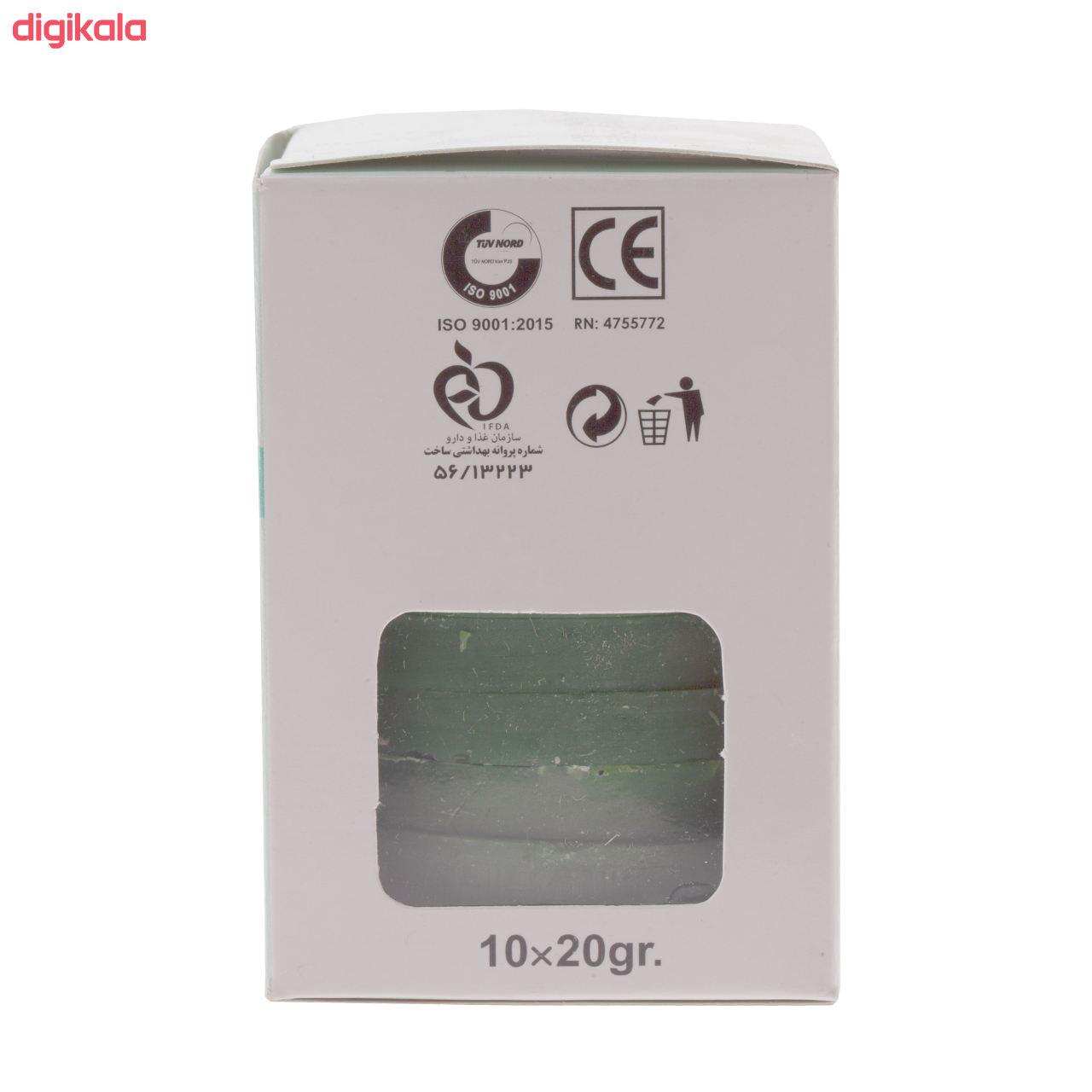 وکس موبر بیس بیوتی مدل Aloevera وزن 20 گرم بسته 10 عددی main 1 1
