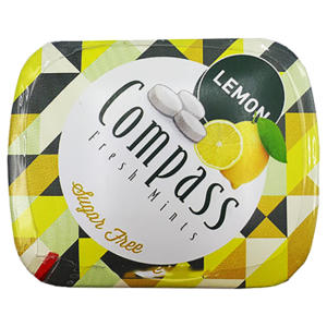خوشبو کننده دهان کامپس با طعم Lemon بسته 50 عددی