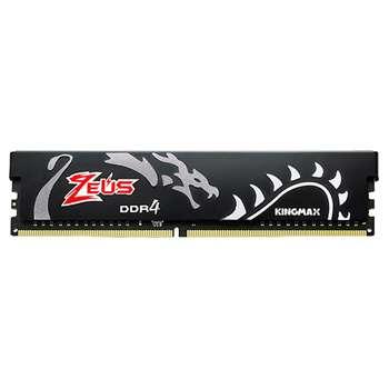 رم دسکتاپ DDR4 تک کاناله 3000 مگاهرتز CL16 کینگ مکس مدل Zeus Dragon ظرفیت 16گیگابایت