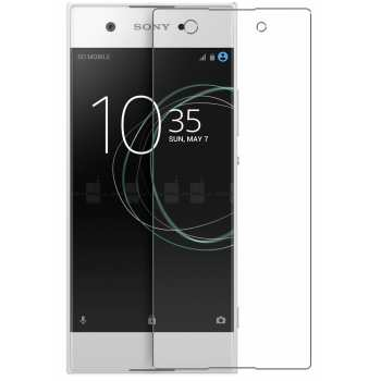 محافظ صفحه نمایش شیشه ای تمپرد مناسب برای گوشی موبایل سونی Xperia XA1