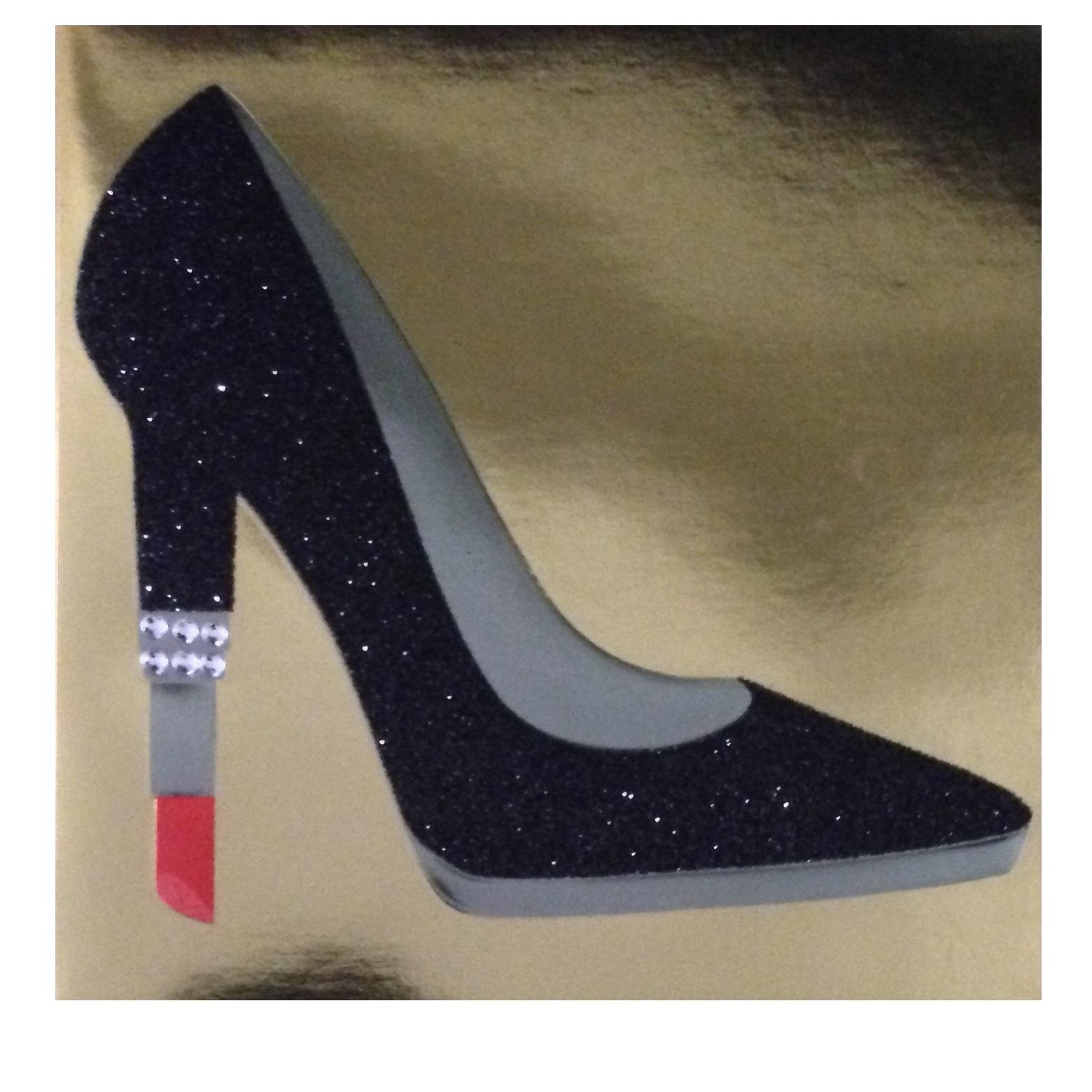 کارت پستال پاپیروس طرح کفش پاشنه بلند کد 305