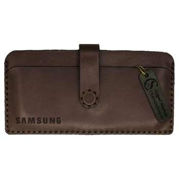 کیف موبایل چرمینه اسپرت مدل 90MB مناسب برای گوشی موبایل تا سایز 6.6 اینچ