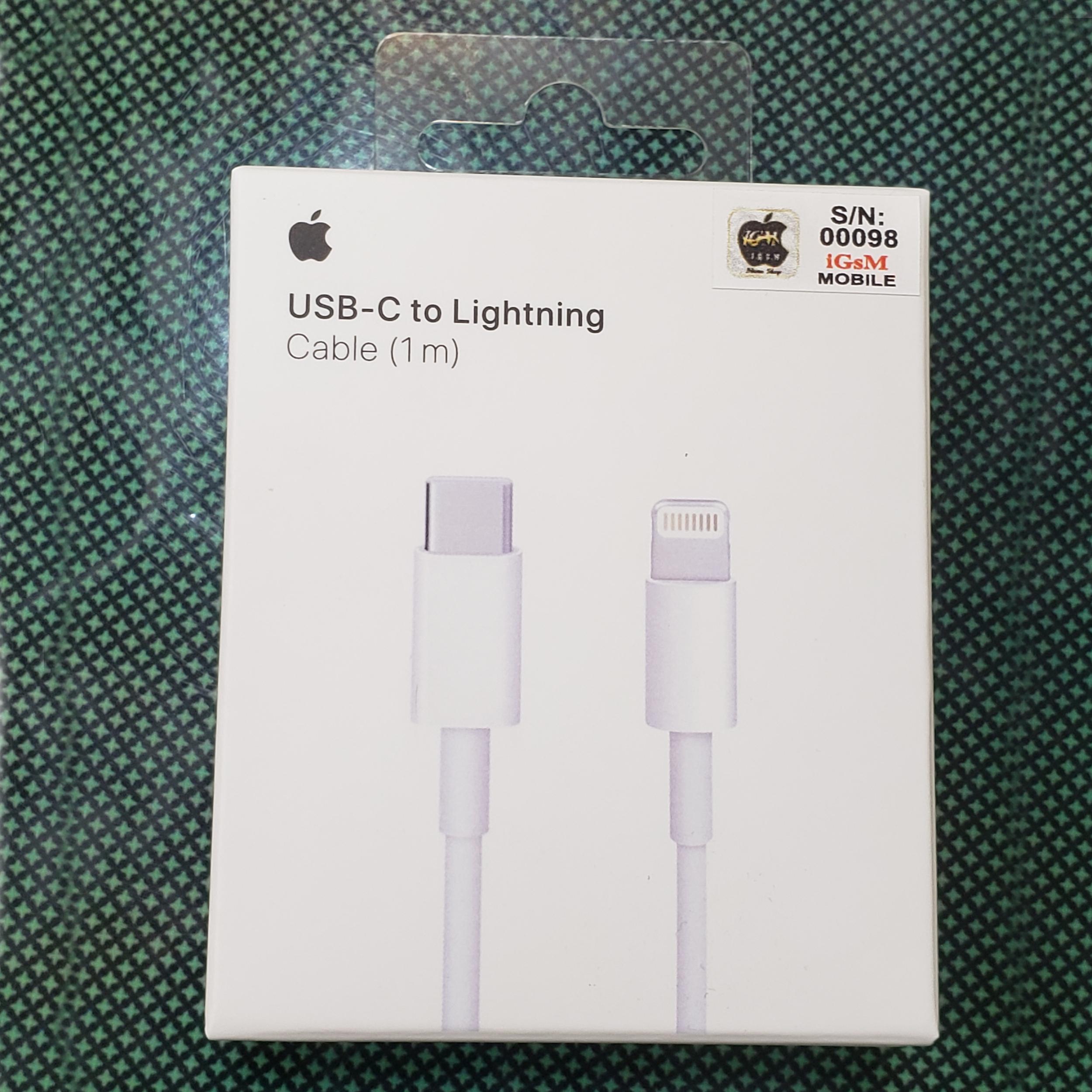 کابل تبدیل USB-C به لایتنینگ مدل MK0X2FE/A A1656 طول 1 متر main 1 7