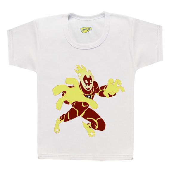 تی شرت پسرانه کارانس طرح بن تن مدل BT-2009