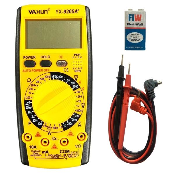 مولتی متر یاکسون مدل +YX-9205A