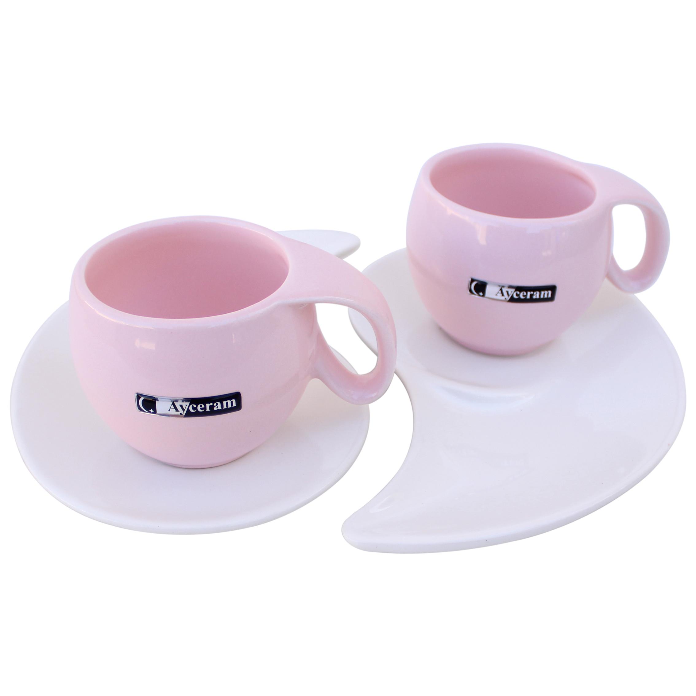 سرویس چای خوری 4 پارچه آی سرام کد 511