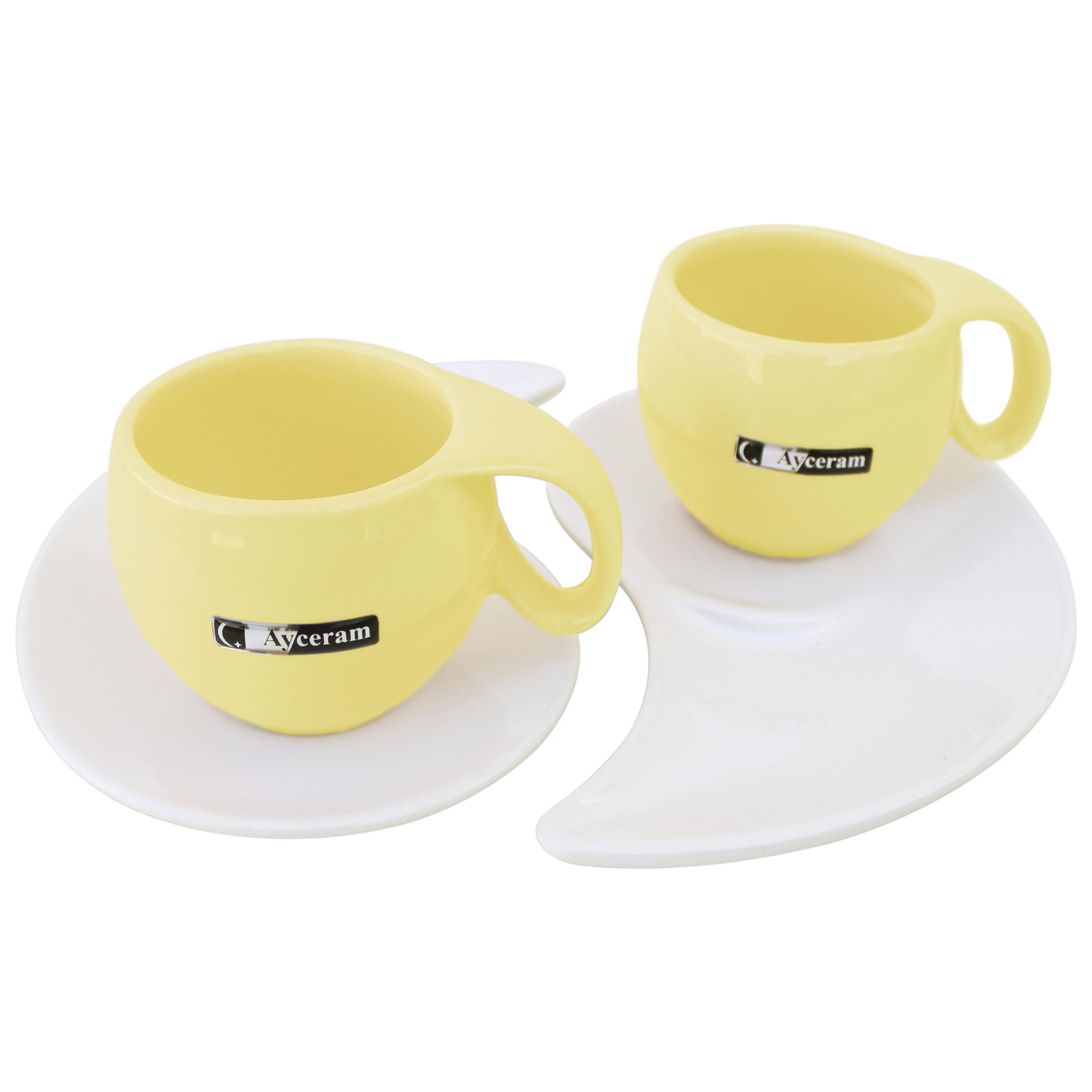 سرویس چای خوری 4 پارچه آی سرام کد 515