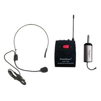 میکروفن بی سیم میوزیک هاوس مدل UHF-700