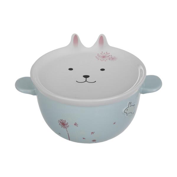 ظرف غذای 2 تکه کودک مدل خرگوشی کد 018-1