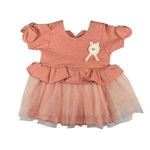 پیراهن نوزادی دخترانه کد 406 -3