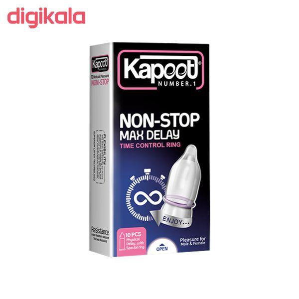 کاندوم کاپوت مدل NON-STOP بسته 10 عددی main 1 1
