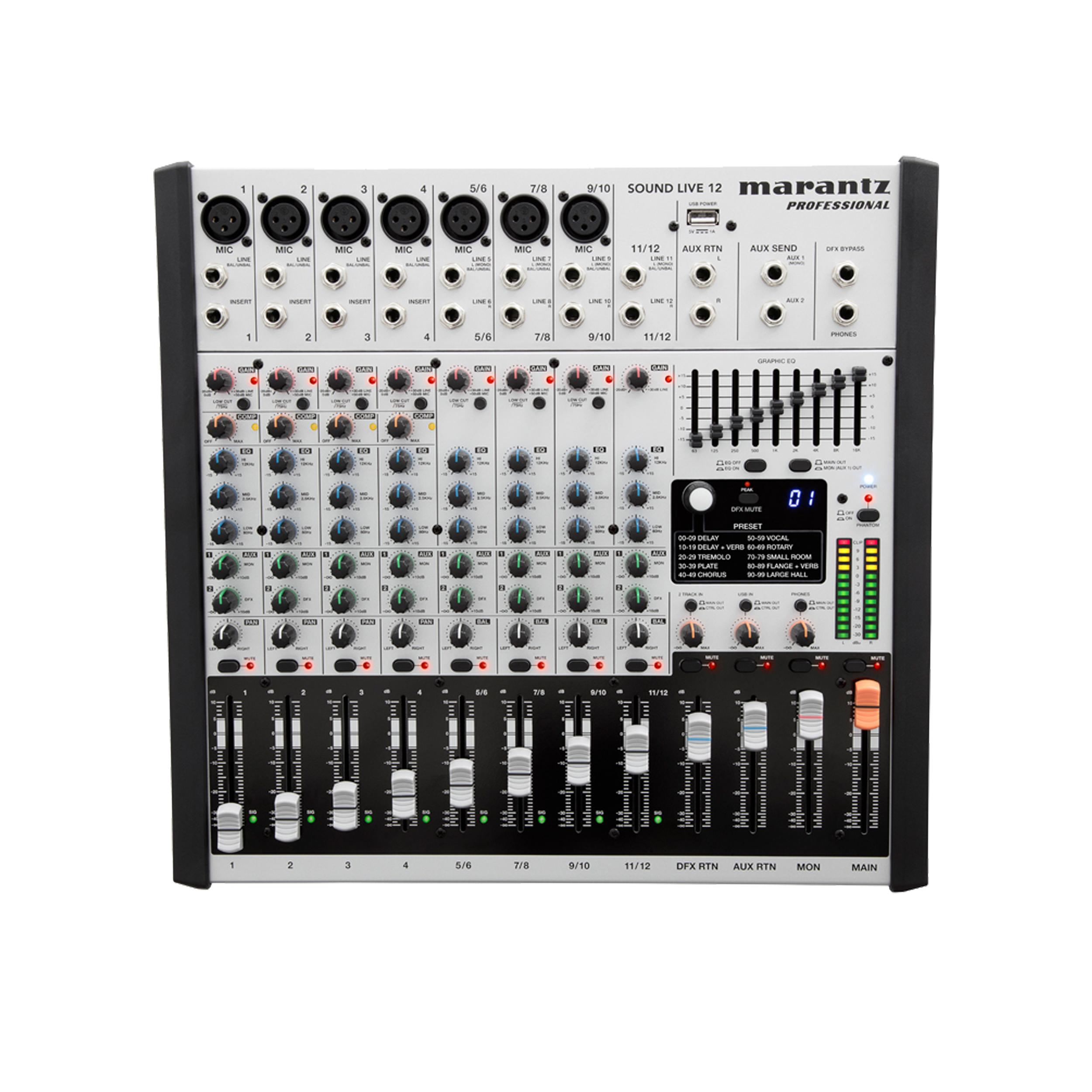 میکسر مرنتز مدل Sound Live 12
