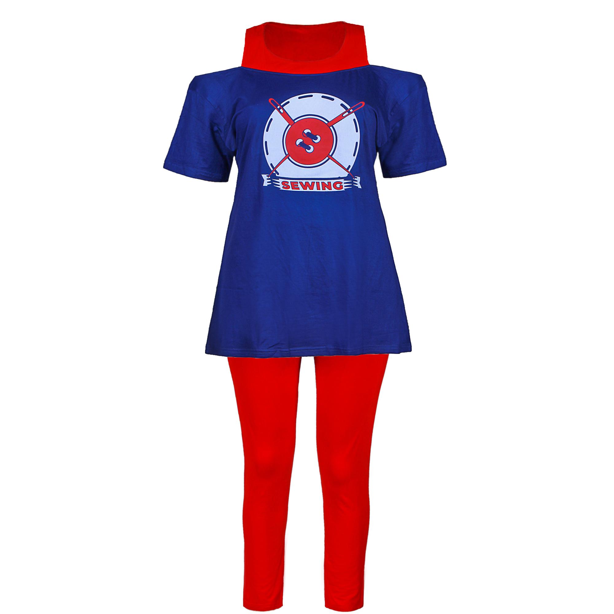 ست تی شرت و شلوار زنانه یشیم کد YS1152