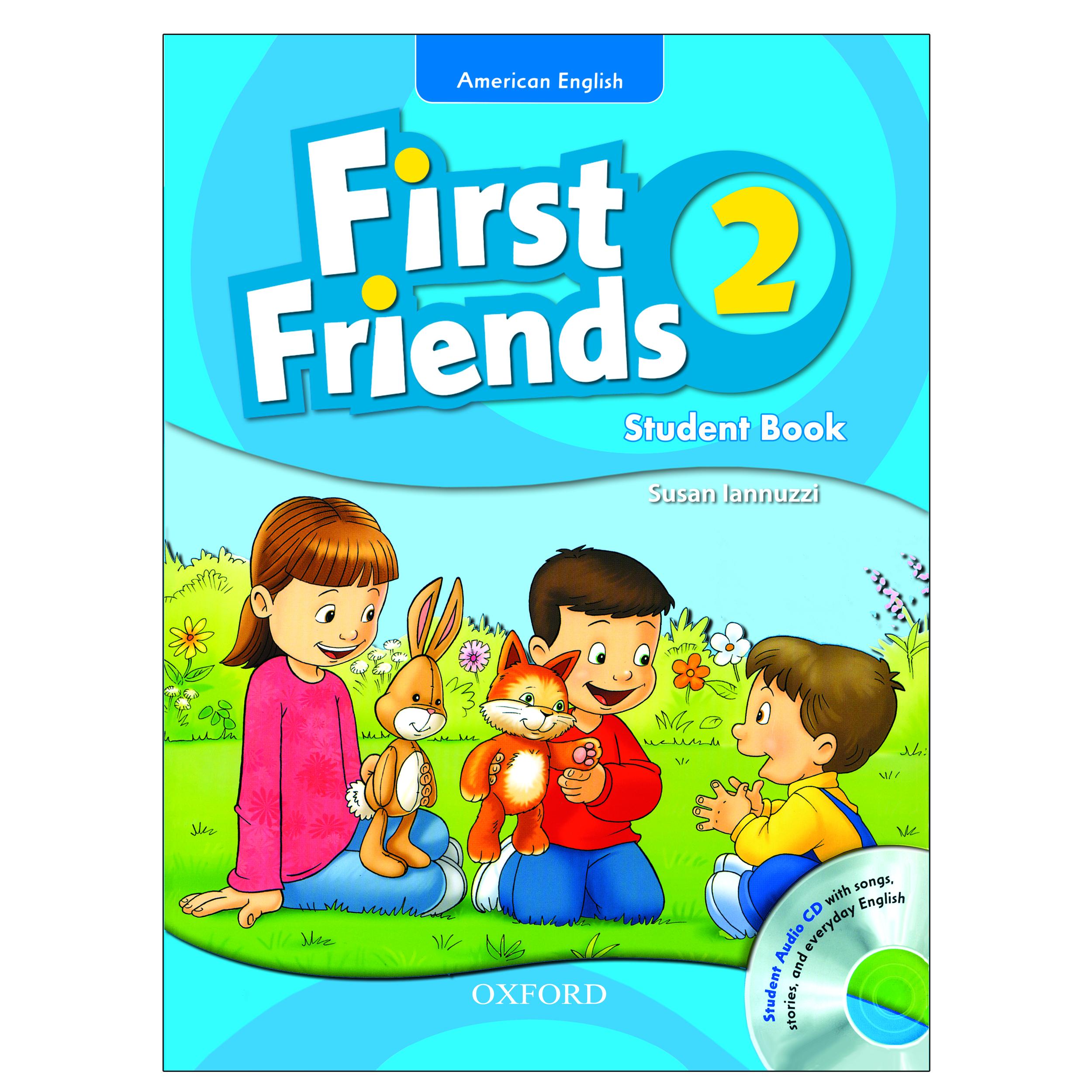 خرید                      کتاب 2 American English First Friends اثر Susan Lannuzzi انتشارات Oxford