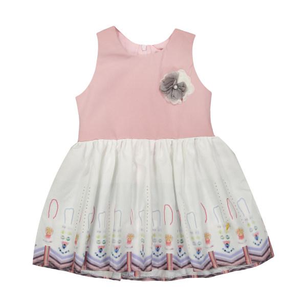 پیراهن دخترانه مهرک مدل 1381114-8601