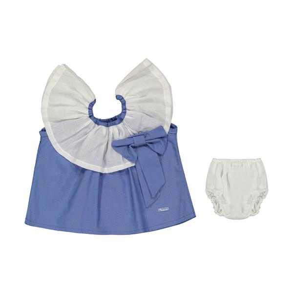 ست پیراهن و شورت نوزادی دخترانه مهرک مدل 1381127-5701