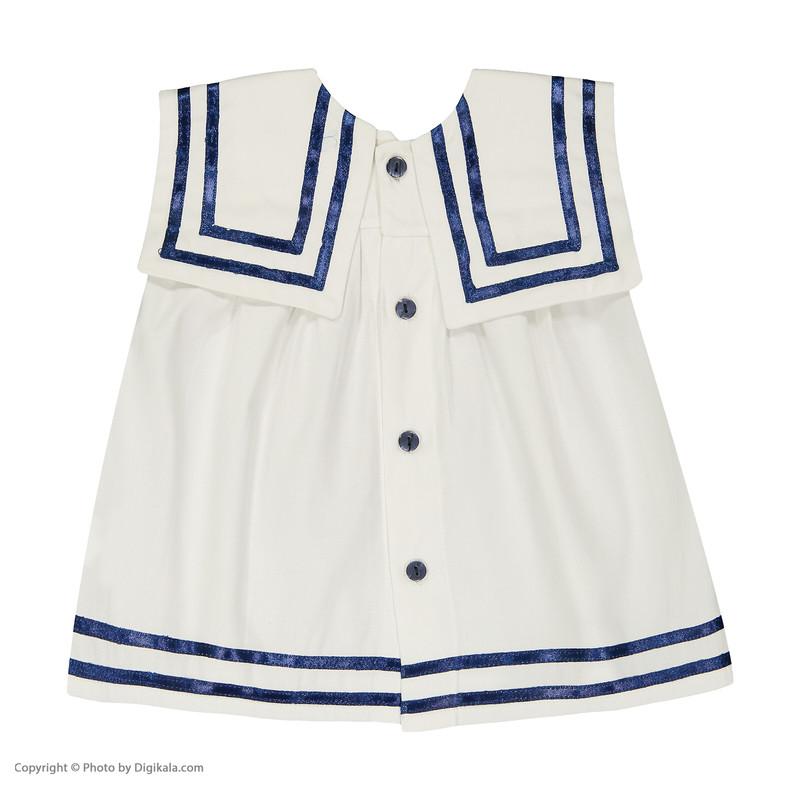 پیراهن نوزادی دخترانه مهرک مدل 1381131-0159