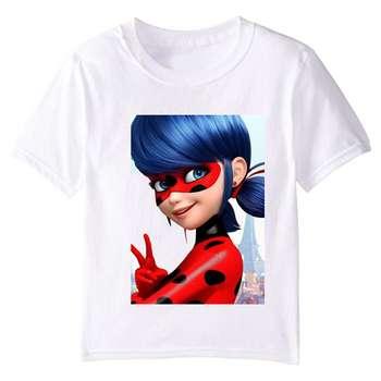 تی شرت بچگانه طرح دختر کفشدوزکی کد TSb26