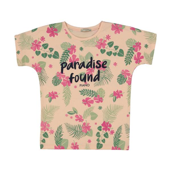 تی شرت دخترانه پیانو مدل 1416-20