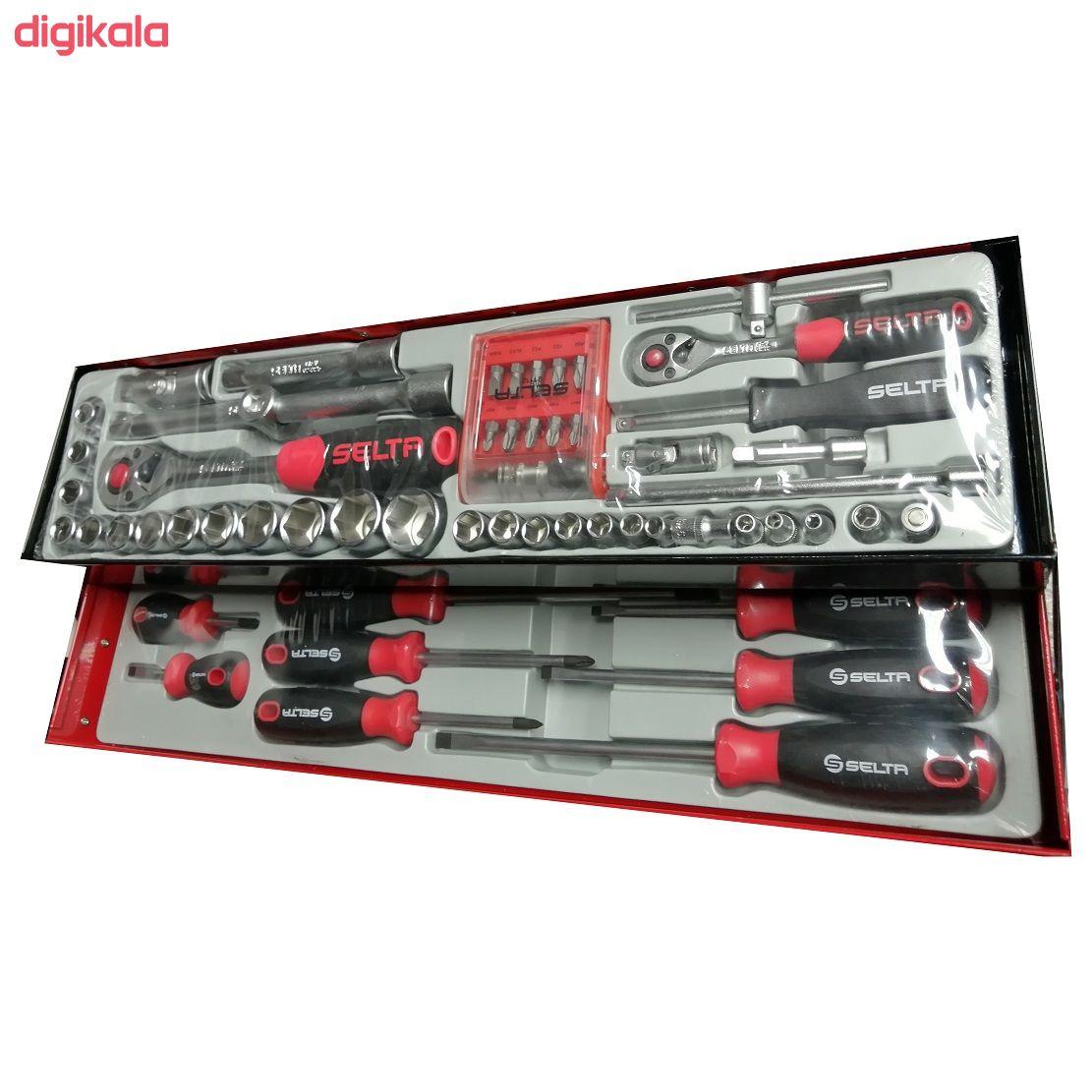 مجموعه 101 عددی ابزار سلتا مدل 10205A main 1 2