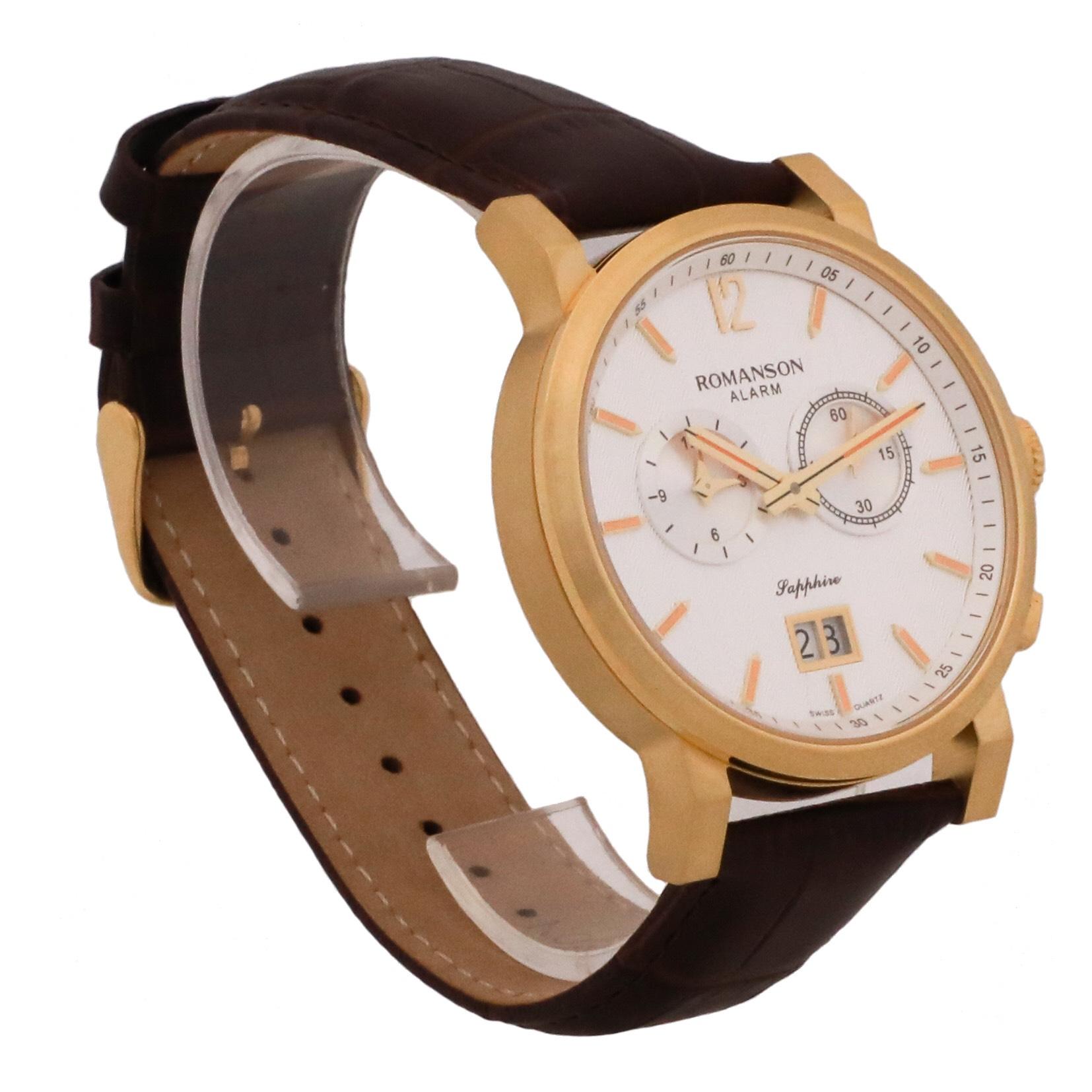 کد تخفیف                                      ساعت مچی عقربه ای مردانه رومانسون مدل TL8A07MMNGASR7