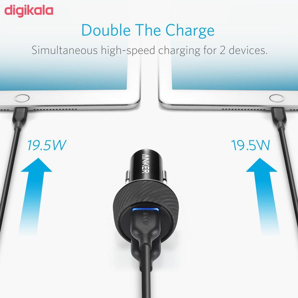 شارژر فندکی انکر مدل A2228 PowerDrive Speed 2 Ports With Quick Charge 3.0 main 1 15