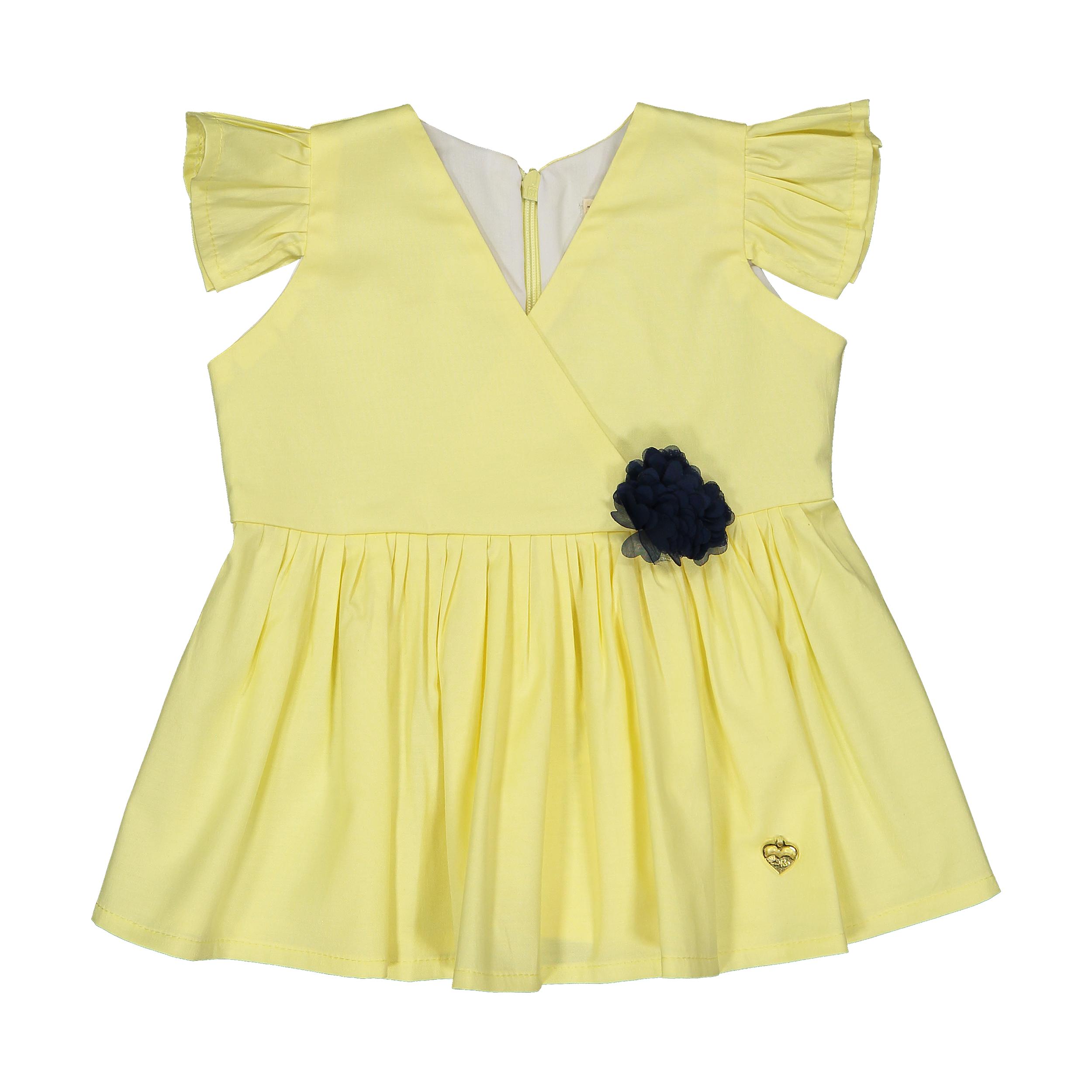 پیراهن نوزادی دخترانه مهرک مدل 1381130-1100