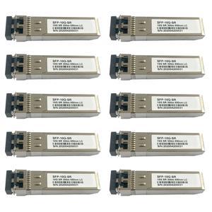 ماژول فیبر نوری مدل SFP-10G-SR بسته 10 عددی