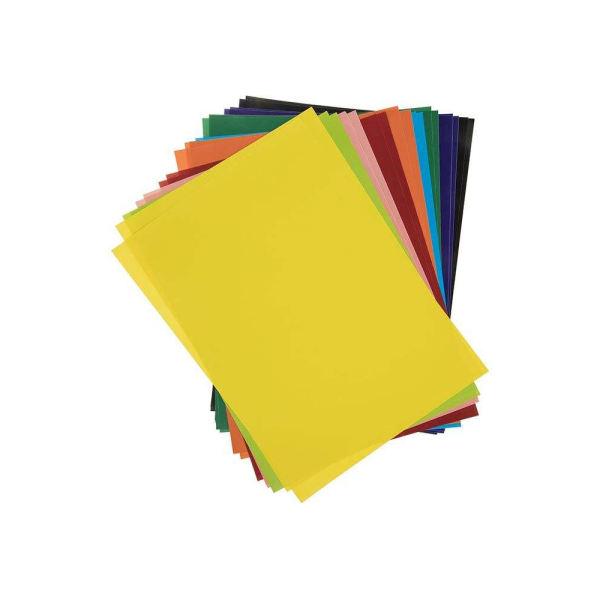 کاغذ رنگی A4 پونز مدل p-z0601 بسته 20 عددی