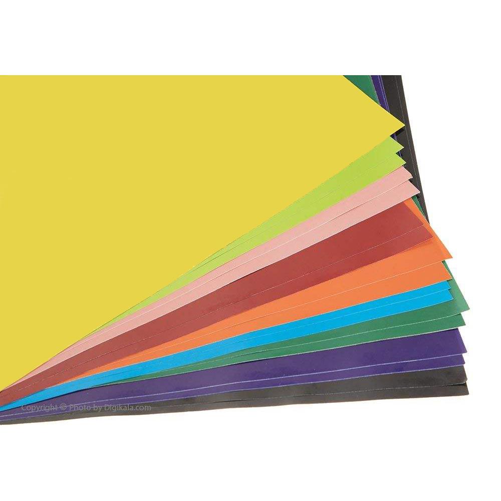 کاغذ رنگی A4 پونز مدل p-z0601 بسته 20 عددی main 1 1