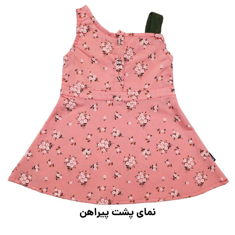 ست پیراهن و شلوار دخترانه دندی کد KRN-1035