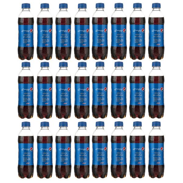 نوشابه گازدار پپسی با طعم کولا - 300 میلی لیتر بسته 24 عددی