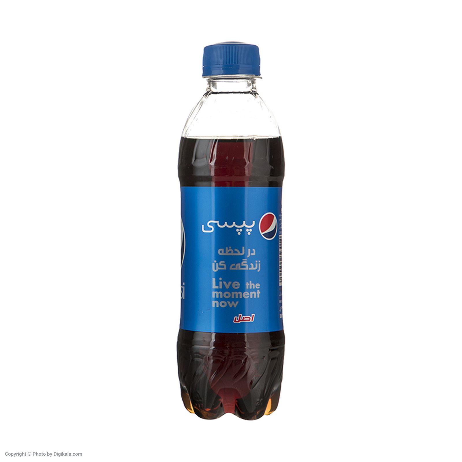 نوشابه گازدار پپسی با طعم کولا - 300 میلی لیتر بسته 24 عددی main 1 2